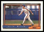 1992 Topps #157  Keith Miller  Front Thumbnail