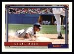 1992 Topps #164  Shane Mack  Front Thumbnail