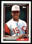 1992 Topps #197  Glenn Braggs  Front Thumbnail