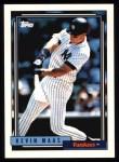 1992 Topps #710  Kevin Maas  Front Thumbnail