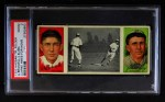 1912 T202 Hassan   -  Al Bridwell / Johnny Kling Clarke Hikes for Home  Front Thumbnail