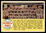 1958 Topps #377 ALP  Braves Team Checklist Front Thumbnail