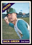 1966 Topps #545  Dick Green  Front Thumbnail