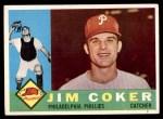 1960 Topps #438  Jim Coker  Front Thumbnail