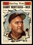 1961 Topps #567   -  Danny Murtaugh All-Star Front Thumbnail