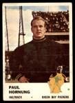 1961 Fleer #90  Paul Hornung  Front Thumbnail