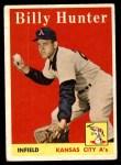 1958 Topps #98 WN Billy Hunter  Front Thumbnail