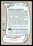 1989 Pacific Legends #135  Roberto Clemente  Back Thumbnail