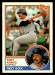 1983 Topps Traded #4 T Tony Armas  Front Thumbnail