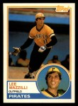 1983 Topps Traded #67 T Lee Mazzilli  Front Thumbnail