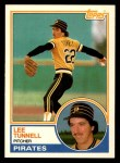 1983 Topps Traded #118 T Lee Tunnell  Front Thumbnail