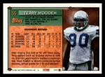 1994 Topps #55  Terry Wooden  Back Thumbnail