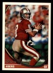 1994 Topps #60  Steve Young  Front Thumbnail