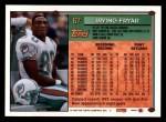 1994 Topps #67  Irving Fryar  Back Thumbnail