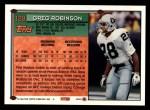 1994 Topps #129  Greg Robinson  Back Thumbnail