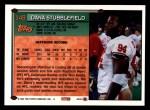 1994 Topps #149  Dana Stubblefield  Back Thumbnail