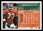1994 Topps #159  Simon Fletcher  Back Thumbnail