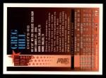 1994 Topps #216  Greg Hill  Back Thumbnail