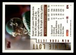 1994 Topps #274  Ronnie Lott  Back Thumbnail