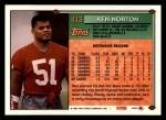 1994 Topps #413  Ken Norton Jr.  Back Thumbnail