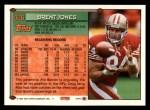 1994 Topps #426  Brent Jones  Back Thumbnail