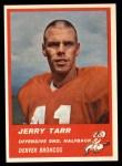 1963 Fleer #83  Jerry Tarr  Front Thumbnail
