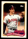 1989 Topps Traded #3 T Ken Anderson  Front Thumbnail