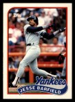 1989 Topps Traded #7 T Jesse Barfield  Front Thumbnail