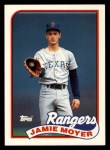 1989 Topps Traded #85 T Jamie Moyer  Front Thumbnail
