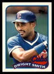 1989 Topps Traded #113 T Dwight Smith  Front Thumbnail