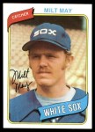 1980 Topps #647  Milt May  Front Thumbnail