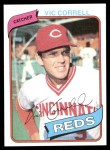 1980 Topps #419  Vic Correll  Front Thumbnail