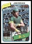 1980 Topps #341  Jim Essian  Front Thumbnail