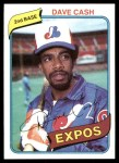 1980 Topps #14  Dave Cash  Front Thumbnail