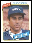 1980 Topps #36  Rusty Torres  Front Thumbnail