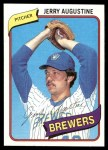 1980 Topps #243  Jerry Augustine  Front Thumbnail