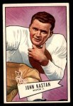1952 Bowman Small #81  John Kastan  Front Thumbnail