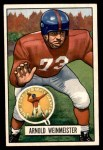 1951 Bowman #21  Arnold Weinmeister  Front Thumbnail