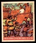 1933 Goudey Indian Gum #181   Defense of Stockade  Front Thumbnail