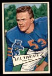 1952 Bowman Small #96  Bill Wightkin  Front Thumbnail