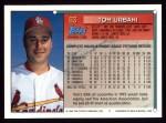 1994 Topps #83  Tom Urbani  Back Thumbnail