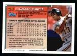 1994 Topps #309  Carlos Garcia  Back Thumbnail