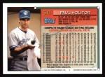 1994 Topps #540  Paul Molitor  Back Thumbnail