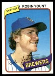1980 Topps #265  Robin Yount  Front Thumbnail