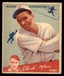 1934 Goudey #85  Adam Comorosky  Front Thumbnail