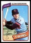 1980 Topps #634  Glenn Borgmann    Front Thumbnail