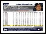 2004 Topps #221  Mike Mussina  Back Thumbnail
