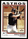 2004 Topps #297   -  Anthony Acevedo First Year Front Thumbnail