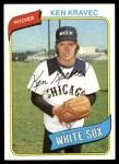 1980 Topps #575  Ken Kravec  Front Thumbnail