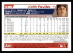 2004 Topps #629  Keith Foulke  Back Thumbnail